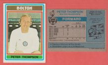 Bolton Wanderers Peter Thompson England 274